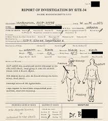 scarecrow writing paper scp 3998 scp foundation investigation png