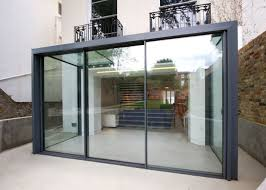 Cheap Sliding Patio Doors by The Versatile Glass Extension On This Traditional Home Uses A