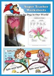 super teacher worksheets for elementary students day by day in