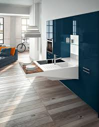 italian kitchen furniture by snaidero furniture snaidero kitchens with wooden flooring and blue