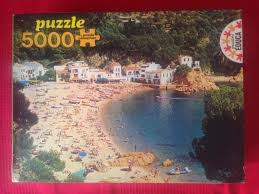 5000 educa beach at tamariu spain rare puzzles