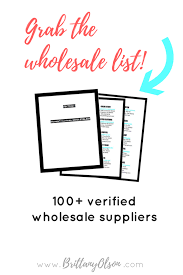 boutique wholesale clothing suppliers to help you start an