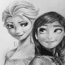 elsa and anna frozen by equillybrium on deviantart