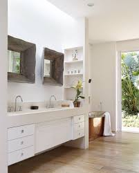 bathroom modern bathroom design with rustic decoration idea