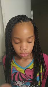 young black american women hair style corn row based box braids for little girls hairstyles for little girls