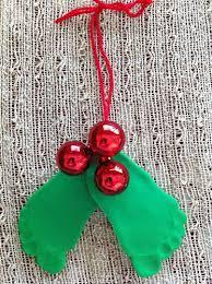 christmas handprint u0026 footprint crafts keepsakes red ted art u0027s