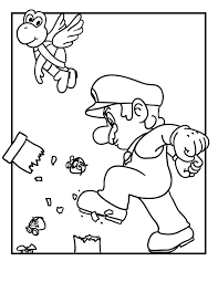 super mario coloring pages 14 super mario coloring pages