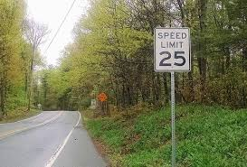 Speed Limit In Blind Intersection Pike County Speed Limits And You Milfordnow
