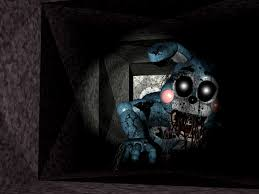 google wallpaper fnaf fnaf shattered toy bonnie in the air vent fanmade by goldennexus on