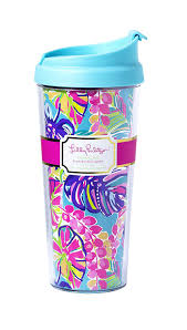 Exotic Colors by Amazon Com Lilly Pulitzer Thermal Mug Exotic Garden Coffee