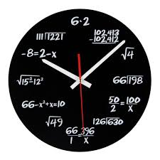 Unique Clocks by Online Get Cheap Math Wall Clocks Aliexpress Com Alibaba Group