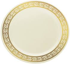 cheap plates for wedding decor premium heavy weight disposable 9