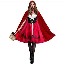 Quality Halloween Costume Quality Red Rid Ing Hood Costume Party