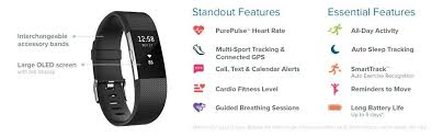 amazon black friday text alerts amazon com fitbit charge 2 heart rate fitness wristband black