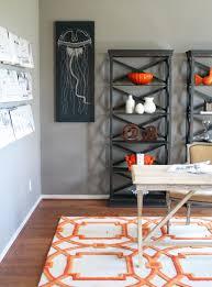 Orange And Black Rugs Orange Curtains Design Ideas