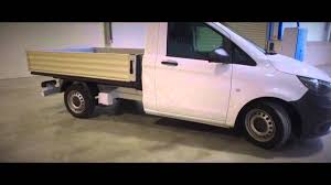 mercedes pickup truck mercedes benz vito pickup truck 4x4 off road dropside youtube