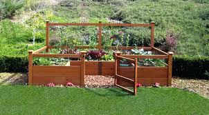 vegetable garden box kits raised garden beds on legs improvement