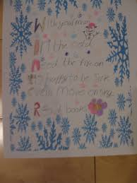 Halloween Acrostic Poem Examples Acrostic Winter Poems St Molaga U0027s