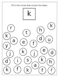 alphabet letter k recognition for preschool preschool crafts