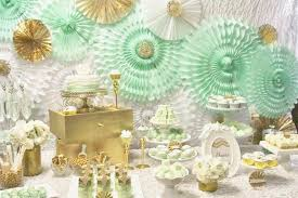 kara s ideas mint and gold via kara s ideas