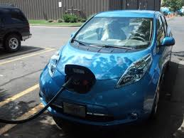 nissan leaf charge time electric vehicle earthshinenature