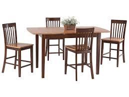 amesbury chair pub sets 5 piece butterfly leaf pub table set