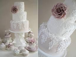 wedding cake roses tumbling trailing sugar flowers cake magazine cake