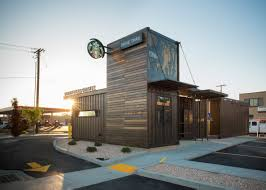 starbucks drive thru shipping containers from cgi container sales
