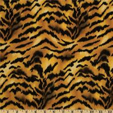 Animal Print Home Decor by Animal Print Tiger Gold Black From Fabricdotcom Designed For Vip