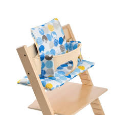 Chaise Tripp Trapp Amazon Com Stokke Tripp Trapp Cushion Silhouette Blue 0 36