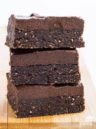 no bake chocolate brownies paleo grubs