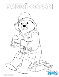 paddington eats a sandwich coloring pages hellokids com
