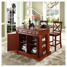 kitchen island with bar top drop leaf breakfast bar top kitchen island with stools crosley