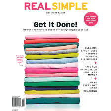 Real Simple Magazine by Ted Baker News Tura