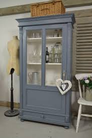 vintage glass front kitchen cabinets this small glass fronted linen cupboard from is
