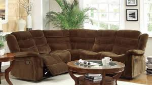 Black Leather Reclining Sectional Sofa Reclining Sectional Sofa In Small Sectional Sofa With Recliner