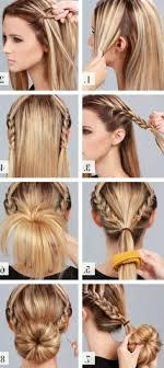 Hochsteckfrisuren Mittellange Haare Einfach by Dirndl Frisuren Mittellange Haare Einfach Archives Top Frisuren