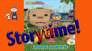 storytime team umizoomi dog story