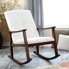 Modern Rocking Chair For Nursery White Wooden Rocking Chair Nursery Best Nursery Rocking Chairs In