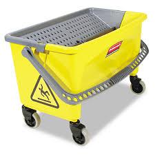 Rubbermaid Mops Walmart by Rubbermaid Commercial Hygen Hygen Press Wring Bucket For