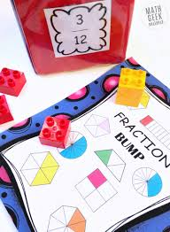 simple low prep equivalent fractions game free