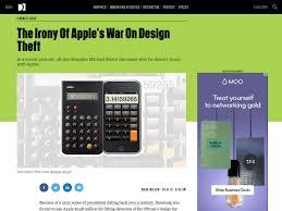 popular design news of the week september 5 2016 september 11 the irony of apple s war on design theft