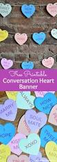 Welcome Home Banners Printable by Diy Conversation Heart Banner With Free Printables