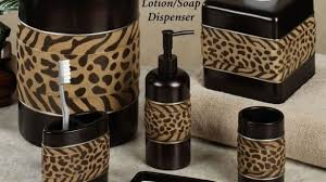 animal print bathroom ideas leopard print bathroom decor bathroom home designing decorating