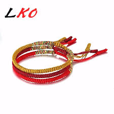 red rope bracelet images Lko pure hand weaving production lucky red rope bracelet for jpg