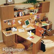 How To Build An Office Desk How To Build A Home Office Family Handyman