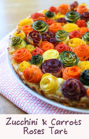 Thanksgiving Carrots Zucchini And Carrots Roses Tart Buona Pappa