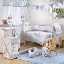 Nursery Bedding Set Baby Bedding Sets Jungle Gray Giraffe 4 Crib Bedding