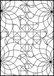 free islamic geometric coloring