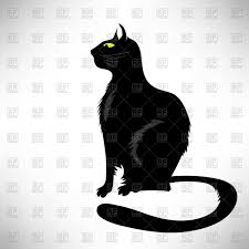 halloween scary cat clip art library 372 best art silhouettes
